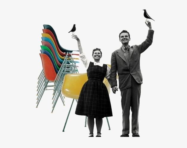 Bilde fra filmen Eames The Architect & The Painter