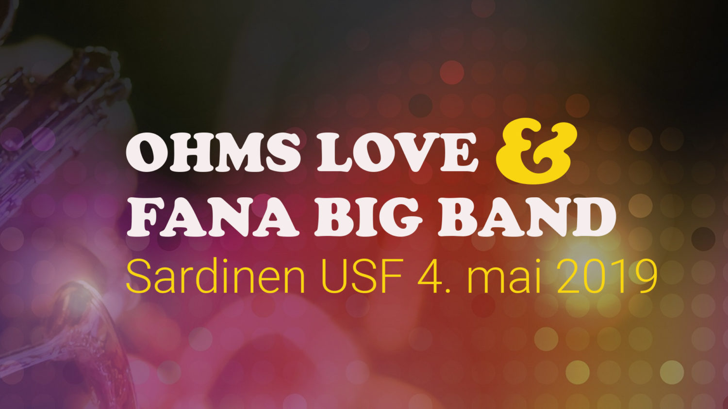 Bilde Ohms Love og Fana Big Band