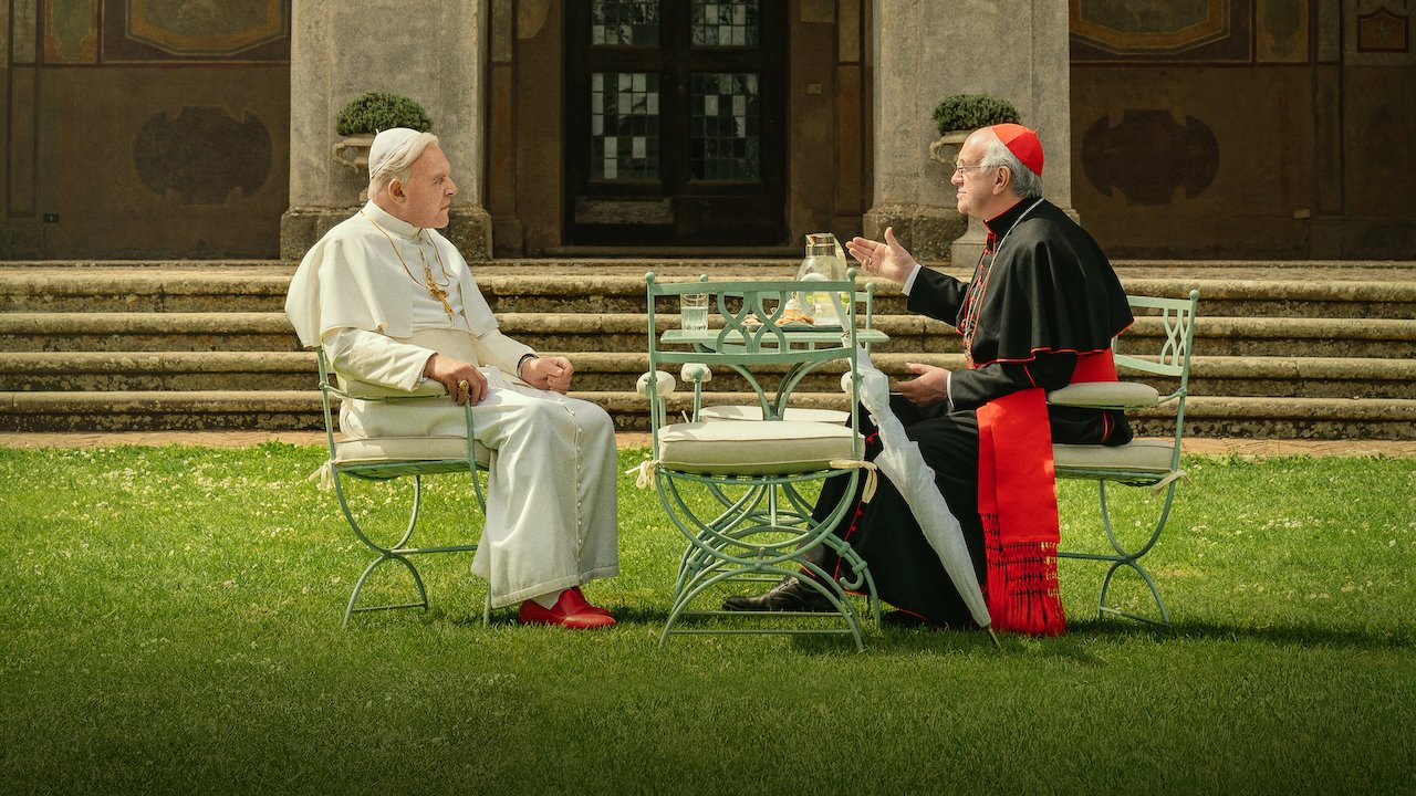 Bil fra filmen The Two Popes, USF Verftet