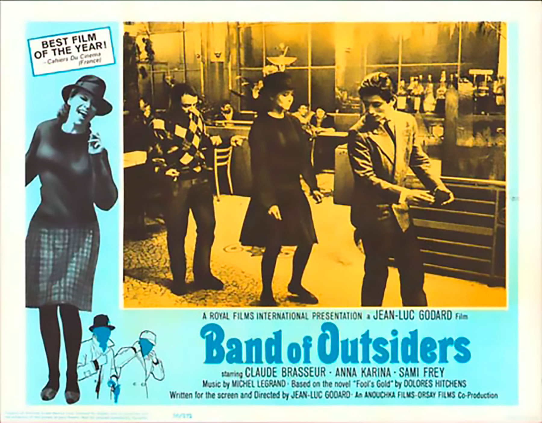 US original poster Band of outsiders